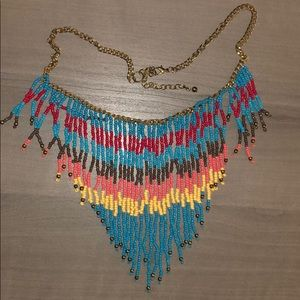 Multi-Color Statement Necklace